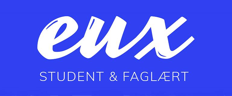 """Logo til """"eux-student & faglært"""" kampagnen"""