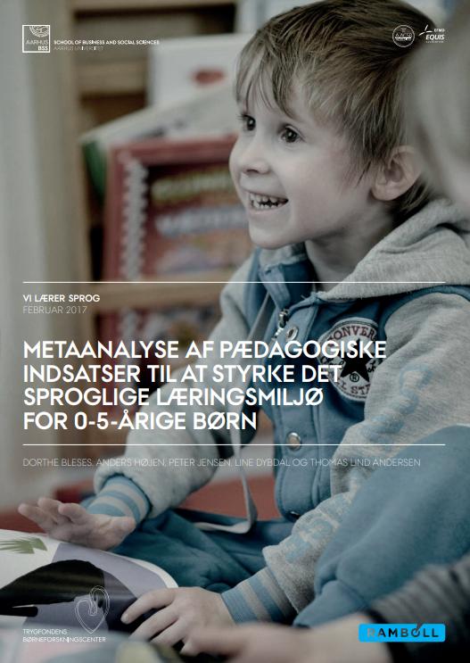 Forside til rapport om pædagogiske indsatser