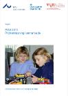 To børn leger -forside til publikation
