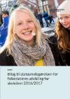 Pige smiler - forside til publikation