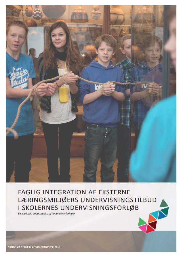 Rapportens forside - tre folkeskoleelever