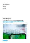 forside til publikation INDFØRELSE AF DEN NY FÆLLES PRØVE I FYSIK/KEMI, BIOLOGI OG GEOGRAFI