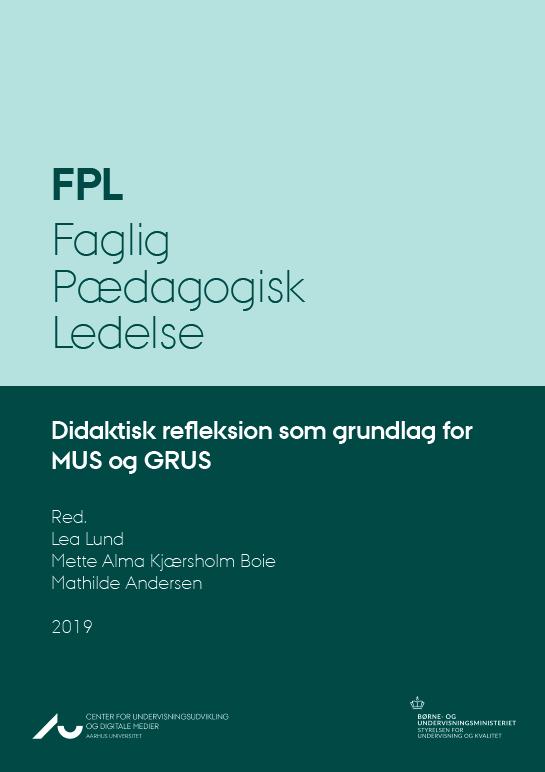 Forside - didaktisk refleksion som grundlag for MUS og GRUS