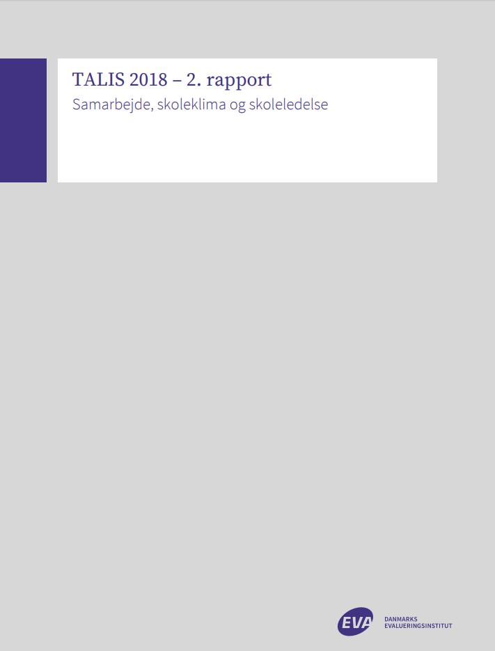 """Forside til publikationen """"Samarbjede, skoleklima og skoleledelse"""""""