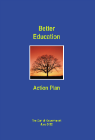 Forside til publikation better education action plan