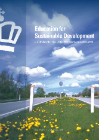Forside til publikation 'education for sustainable development'