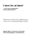 Forside til publikation 'lære for at lære'