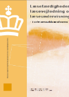 Forside til publikation 'læsefærdigheder, læsevejledning og læseundervisning i ervhervsuddannelserne'