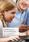 Forside til 'Vejledning til elever med særlige behov' - en elev på en computer og en lærer