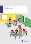 Tegning af skolebørn i et klasselokale