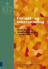 Forside med teksten formel og tabelsamling