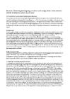 tekst om forskningskortlægning om elever med særlige behov i almenskolen i forhold til inklusion trivsel