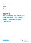 Forside til publikation 'forskningskortlægning om pædagogisk ledelse abstract'
