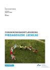 Forside til publikation 'forskningskortlægning om pædagogisk ledelse'