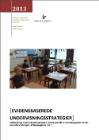 Forside til publikation 'idekatalog til tilrettelæggelsen af læseundervisningen af tosprogede børn'