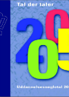 Forside til publikation '2005 tal der taler'