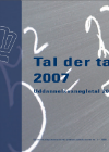 Forside til publikation '2008 tal der taler'