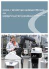 forside til publikation 'analyse af partsstyringen og dialogen i VEU systemet oxford research og peter pi'