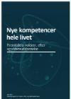 forside til publikation 'nye kompetencer hele livet'